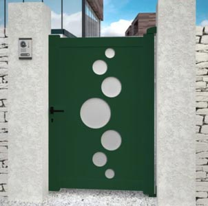 Portillon aluminium design