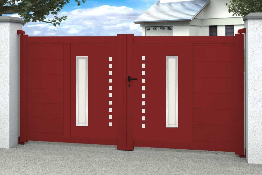 Diomedes 2DB ROUGE HORIZONTAL DROITE