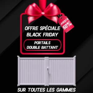 Black Friday double battant